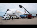 Exploring the A380 in the Jennifer Aniston commercial | Emirates Airline