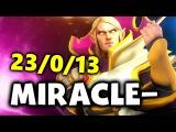 Miracle- Invoker GOD - 23-0-13 - Liquid vs Newbee - DAC EPIC DOTA 2