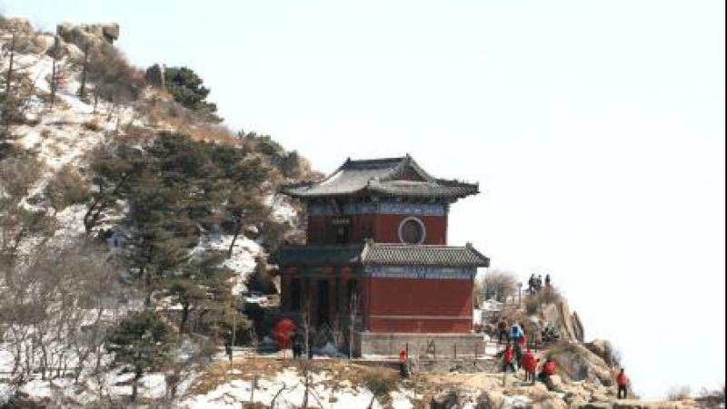 Тайшань после снега
