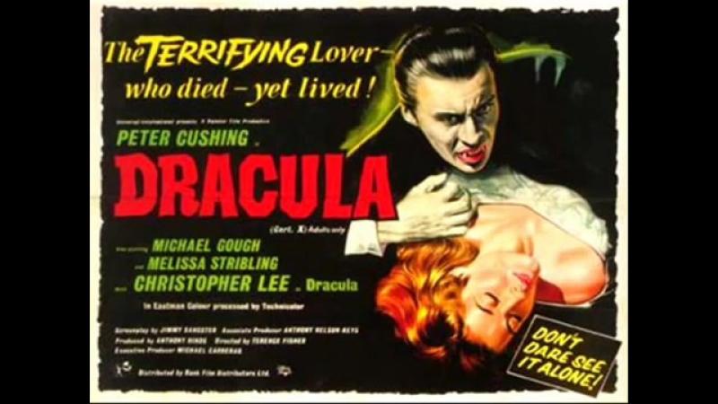 Hammer classic Score Dracula Music by James Bernard