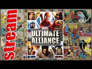 Стрим Игра Marvel Ultimate Alliance