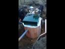 Обвязка скажины, монтаж кессона, летний водопровод и лос Биодека5