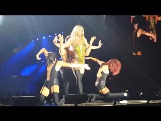 Britney Spears - Intro + Work Bitch + Womanizer + Break The Ice (Live In Tel Aviv 2017)