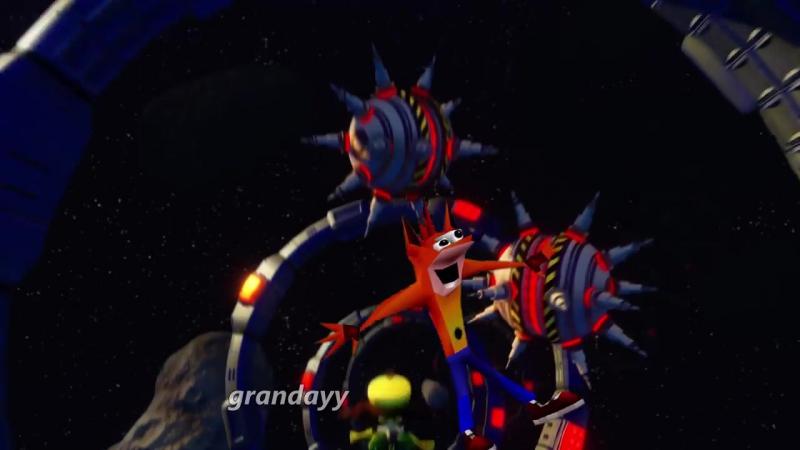 ГОДНЫЙ ВИДОС - Crash Bandicoot - Woahing Stars