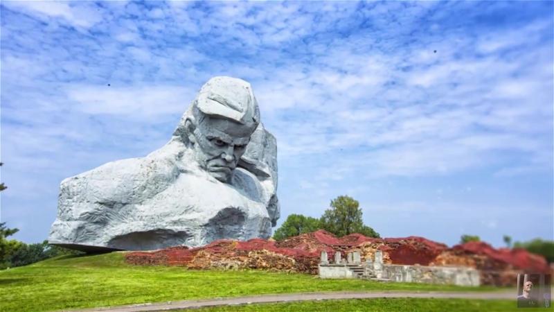 История: Брестская крепость. Аэросъёмка.