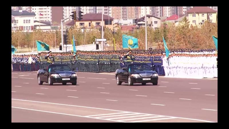 Репетиция парада победы Казахстан Астана