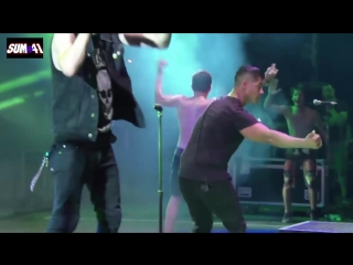 Sum 41 - Live 2016 Full Show HD - Impressive Light Show - The Green Cabaret Festival