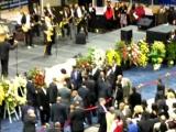 James Brown Augusta Memorial - Michael Jackson says goodbye