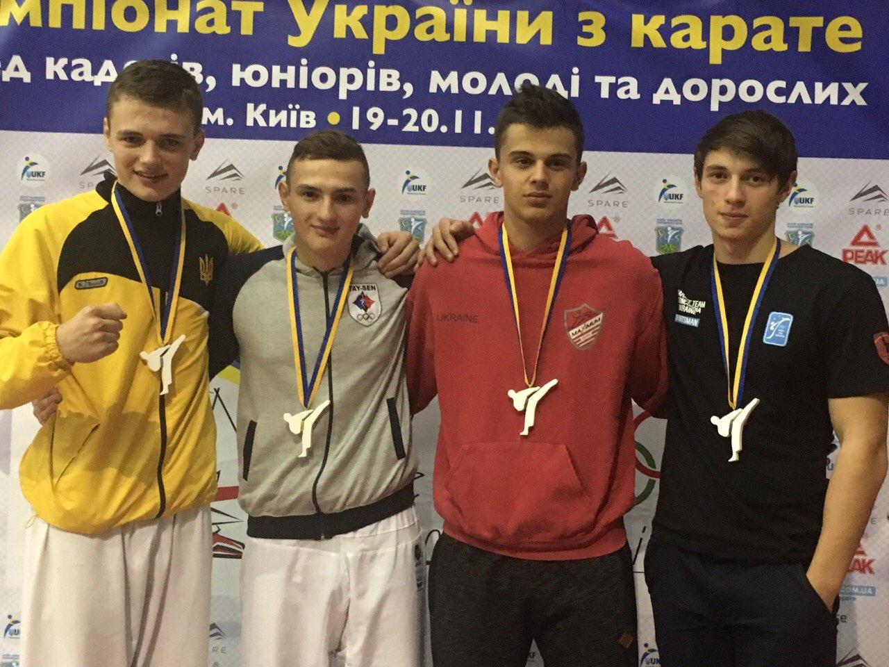 Чернівчани вибороли 5 золотих медалей на Чемпіонаті України з карате (ФОТО, ВІДЕО)