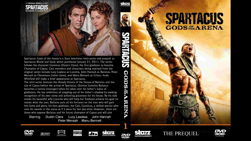 Spartacus - God of the Arena trailer 2011