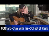 Gotthard - Stay with me - School of Rock - How to play @ROCKANTENNE