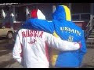 Песенные флешмобы в городах Украины и России. Дружба народов в песнях. Части 1 и 2