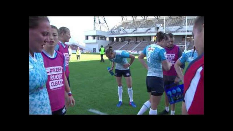 Womens 7s Kitakyushu 2017 Russia vs England