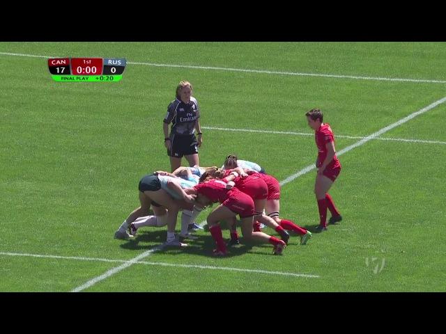 Womens 7s Kitakyushu 7s Russia vs Canada