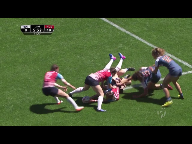 Womens 7s Kitakyushu 2017 Russia vs France day 2