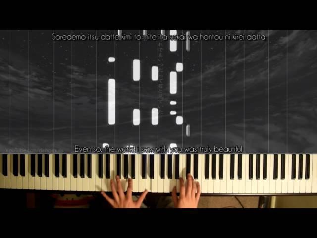 「IA」- Asu No Yozora Shoukaihan アスノヨゾラ哨戒班 (piano) ~ Orangestar