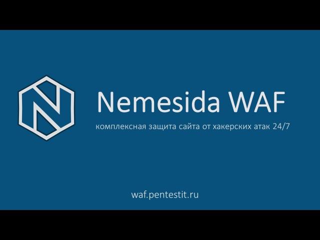 Защита сайта от хакерских атак с использованием Nemesida WAF