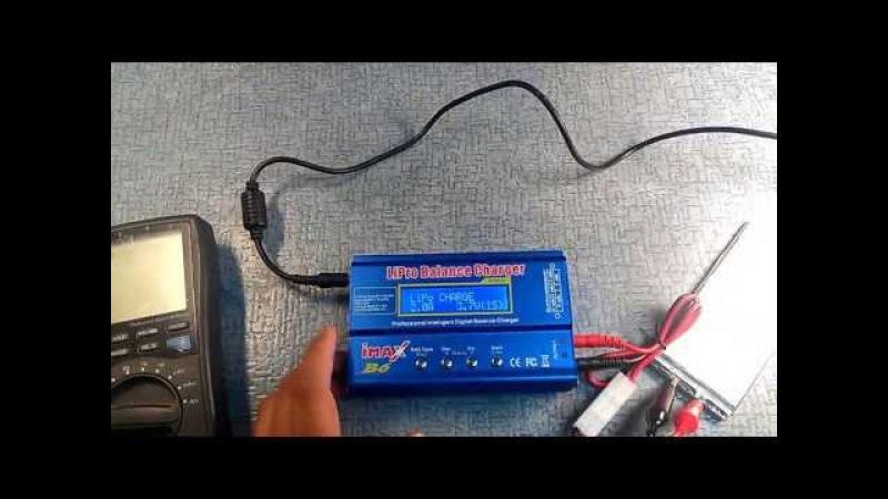 Как восстановить литий-ионный аккумулятор. Лучшее зарядное устройство IMAX B6