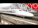 Superszybkie pociągi Shinkansen Tokio Japonia A ride on the Shinkansen Eng subs