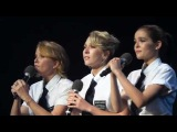 Lea Thompson, Madelyn Deutch & Zoey Deutch Performance at What A Pair 2014