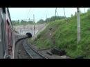 Россия от Читы до Хабаровска - из окна поезда по Забайкальской жд