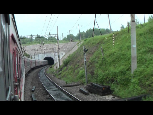 От берегов реки Шилки до Облучья Амурская железная дорога из окна поезда июль 2016