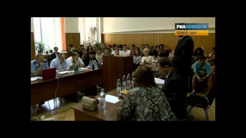Прения PussyRiot: адвокат Фейгин (07.08.2012)