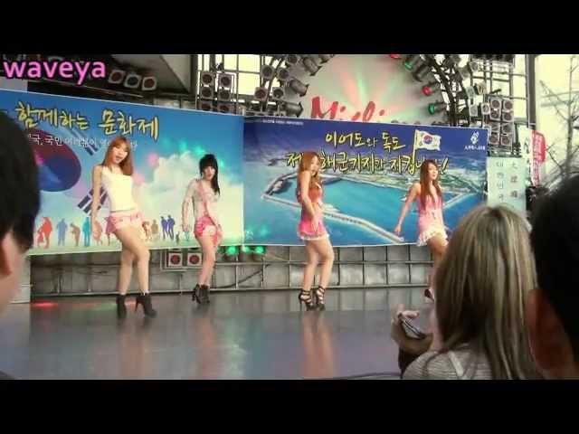 Waveya (직캠) 웨이브야 K-pop dance 동대문 공연