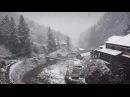 Slow mo snow in Hokkaido, Japan.