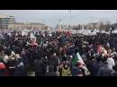 В Чечне кадыровцы вышли поддержать антикоррупционный митинг Навального