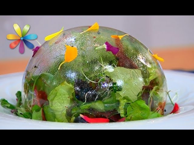 Как красиво подать салат. Презентация как в ресторане – Все буде добре. Выпуск 1074 от 22.08.17