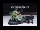 How To Paint Ork Skin Fast - Airbrush Tutorial