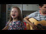 FIREWORK - KATY PERRY (LIVE COVER BY 4-YEAR-OLD CLAIRE RYANN AND DAD)