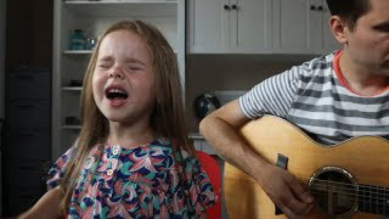 FIREWORK KATY PERRY LIVE COVER BY 4 YEAR OLD CLAIRE RYANN AND DAD