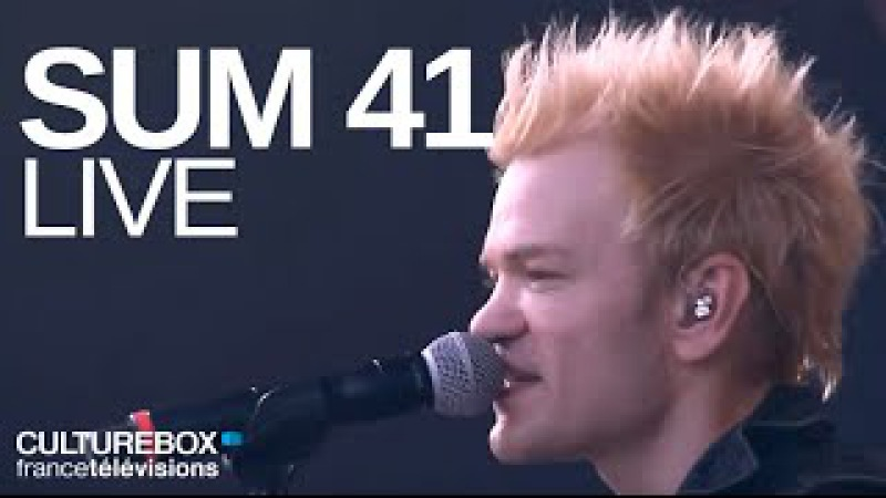 Sum 41 (full concert) - Live @ Festival Rock En Seine 2016