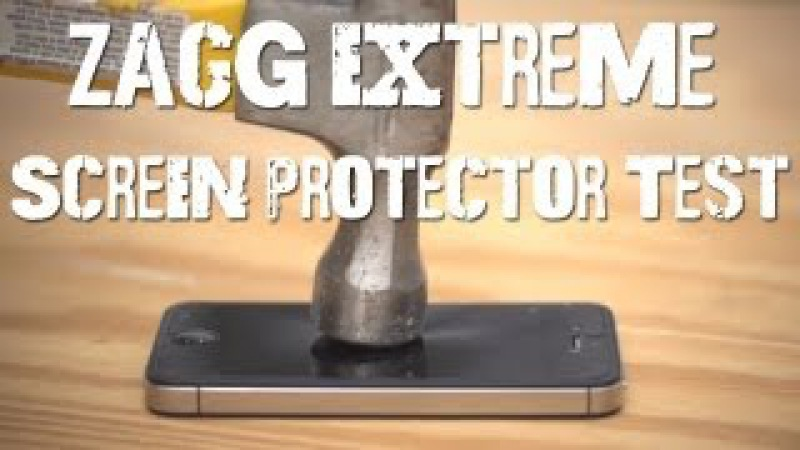 Zagg Extreme Screen Protector Test