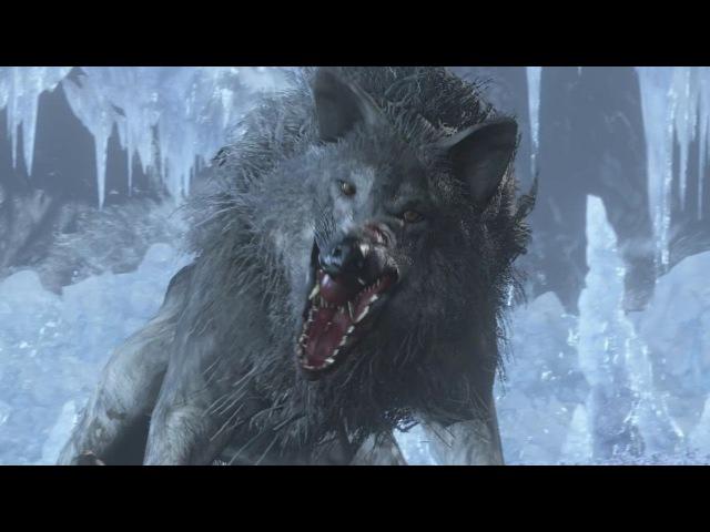 Dark Souls 3 Ashes of Ariandel: Champion's Gravetender and Gravetender Greatwolf Fight (4K 60fps)