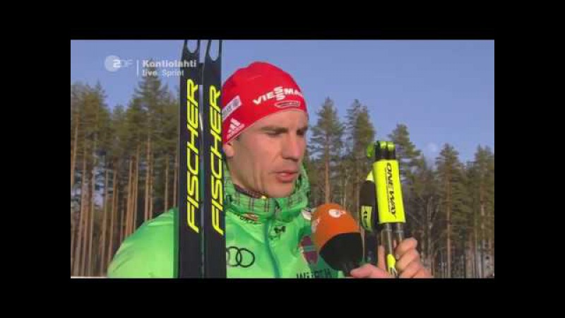 Kontiolahti-2017. Comments from Arnd Peiffer and Martin Fourcade after sprint