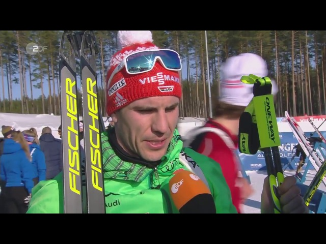 Kontiolahti-2017. Comments from Arnd Peiffer after his victory in pursuit