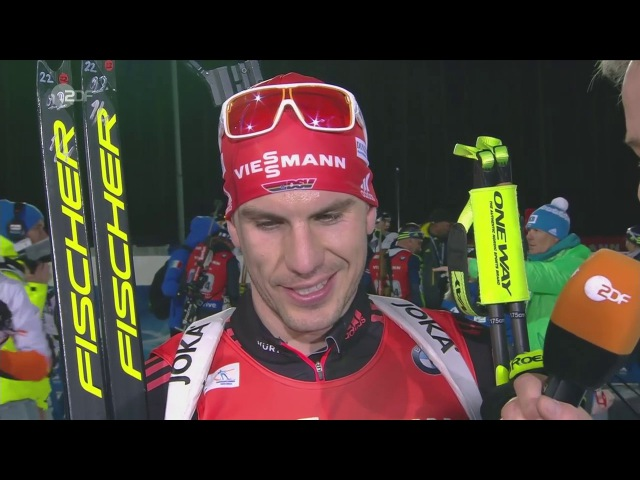 Kontiolahti-2017. Comments from Arnd Peiffer after mixed relay