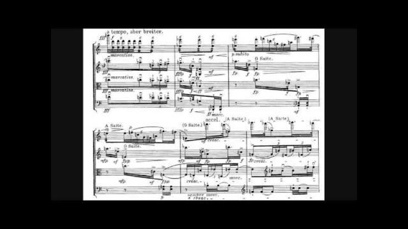 Alban Berg - String Quartet, Op. 3