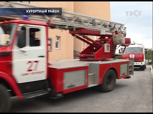 25.05.2017 Пожарные проверили санаторий Детские дюны