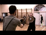 Slow Motion Buckler Fight Mikkel vs Cornelius