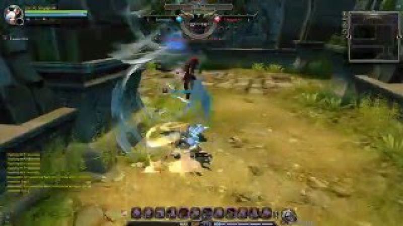 Dragon Nest pvp Defensio vs Barbarian 90 cap 1 2