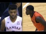 Oklahoma State vs Kansas basketball 2017 (Jan. 14)
