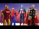 Супергерои детское видео Тор и Человекпаук спасают Капитана Америка