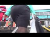 SEXy Lady in Mini ubke !!! BIG ASS !!! Сексуальная Леди в короткой юбке с Большой попой !!! Part Two