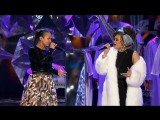 Alicia Keys and Andra Day -
