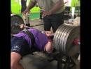 Larry Wıllıams - 265 kg x 2 reps