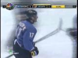 Ilya Kovalchuk scores his first NHL playoff goal for Thrashers (2007) / Первая шайба Ильи Ковальчука в кубке Стэнли